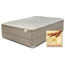 "Kingsbury - Memory Foam - 13"" Euro Pillow Top - Queen"