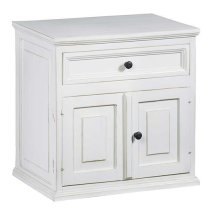 Nightstand - Vintage White Finish