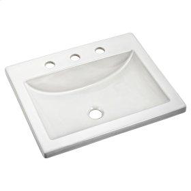 Studio Drop-in Bathroom Sink - American Standard - White