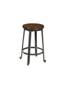 Challiman - Rustic Brown Set Of 2 Dining Room Barstools