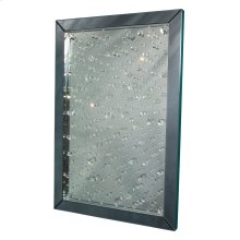Rect Crystal Wall Mirror
