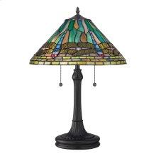 King Table Lamp in Vintage Bronze