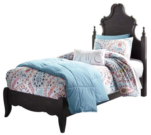 Corilyn - Dark Brown 2 Piece Bed Set (Twin)