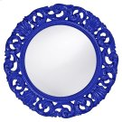 Glendale Mirror - Glossy Royal Blue Product Image