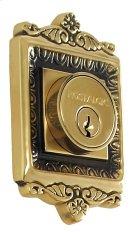 Nostalgic - Double Cylinder Deadbolt Keyed Alike - Egg and Dart in Antique Brass Product Image