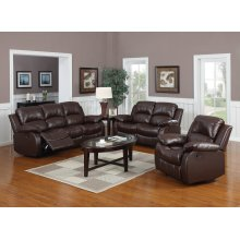 Kaden Bonded Leather Loveseat