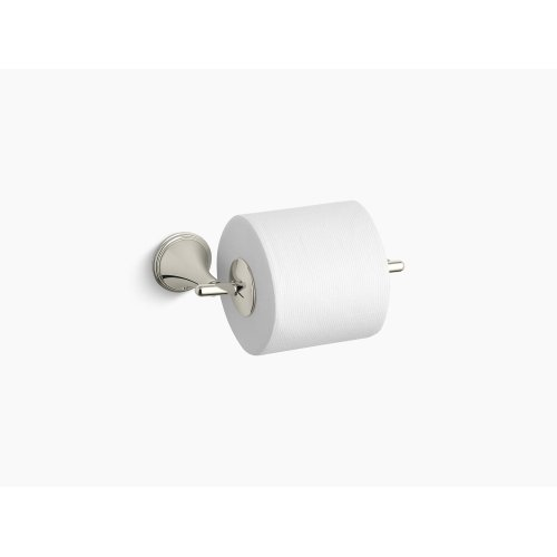Vibrant Polished Nickel Toilet Tissue Holder