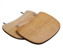 Solid Wood Side Shelf