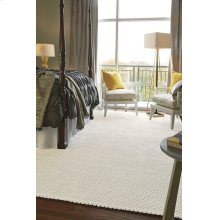 Dramatic Static Cyber White Braided Rugs