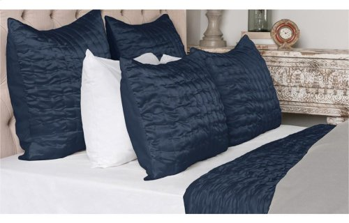 Aura Indigo 3pc Queen Set