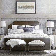 Queen/Brindle Palisades Panel Bed