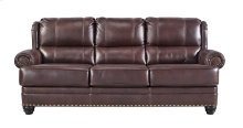 HOT BUY CLEARANCE!!! Leather Match Sofa, Chestnut