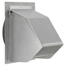 "Fresh Air Inlet Wall Cap for 6"" Round Duct for Range Hoods and Bath Ventilation Fans"