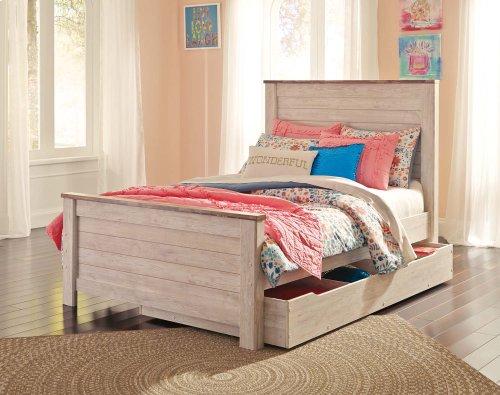 Willowton - White Wash 3 Piece Bed Set (Full)
