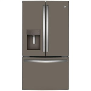 GE®ENERGY STAR® 22.1 Cu. Ft. Counter-Depth French-Door Refrigerator