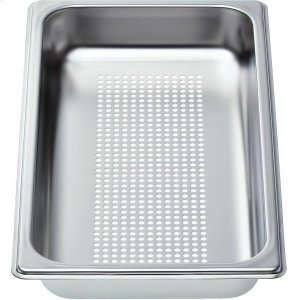 "BOSCHPerforated cooking pan - half size, 1 5/8"" deep"