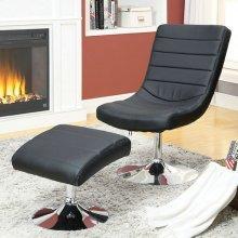 Valerie Lounge Chair W/ Ottoman