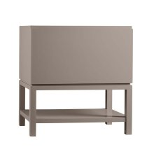 "Jenna 31"" Bathroom Vanity Base Cabinet in Blush Taupe"