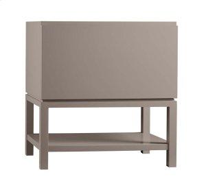 "Jenna 31"" Bathroom Vanity Base Cabinet in Blush Taupe Product Image"
