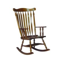 Colonial Rocker in Oak
