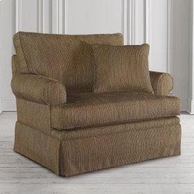 Custom Upholstery Medium Chair and a Half