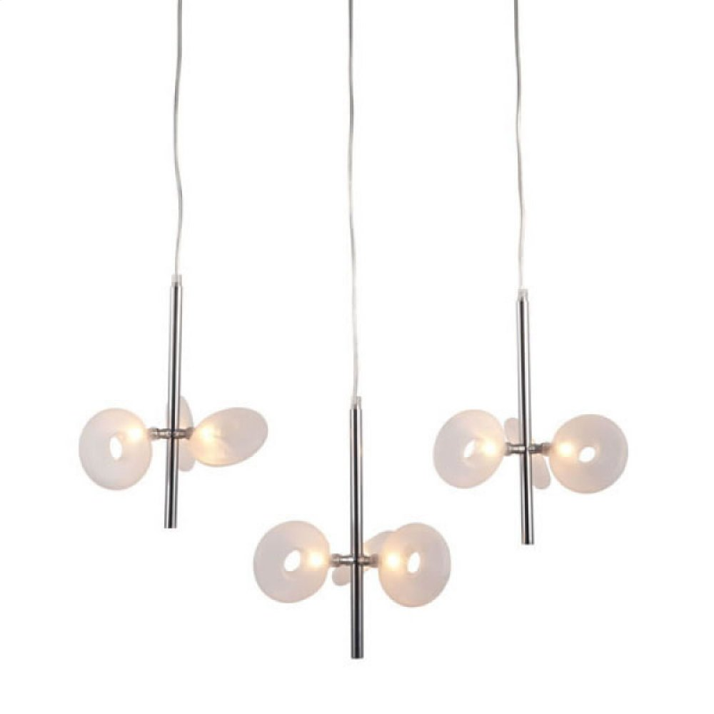 Twinkler Ceiling Lamp Chrome