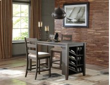 Rokane - Brown 3 Piece Dining Room Set