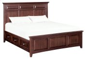 CAF McKenzie King Mantel Storage Bed Product Image