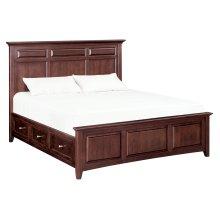 CAF McKenzie King Mantel Storage Bed