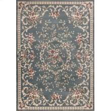 "Avalon 5602 Slate Blue Aubusson 5'3"" X 7'7"""