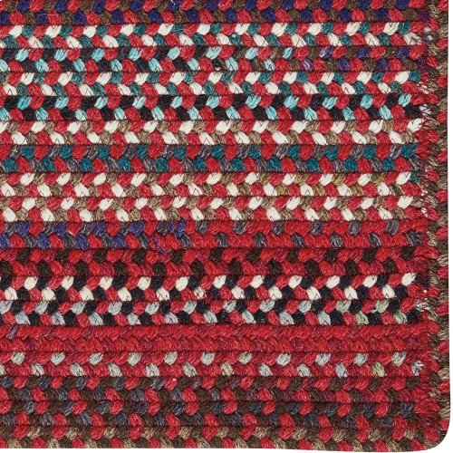 Yorktowne Red Braided Rugs (Custom)