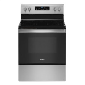 5.3 cu. ft. Whirlpool® electric range with Frozen Bake technology - STAINLESS STEEL