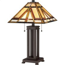 Gibbons Table Lamp in Russet