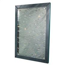 Rect Crystal Wall Mirror