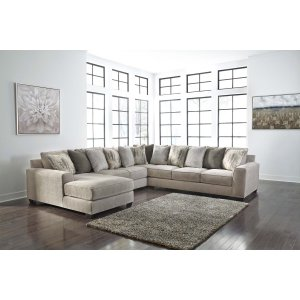 Ashley Furniture Ardsley - Pewter 4 Piece Sectional