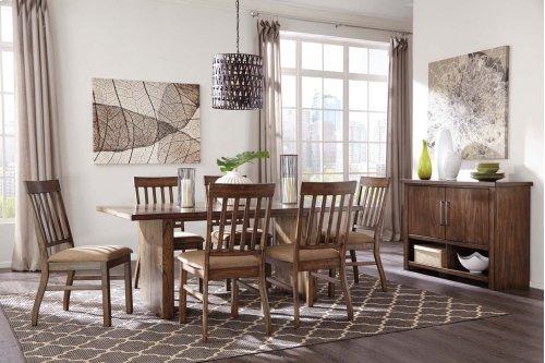 Zilmar - Medium Brown 5 Piece Dining Room Set