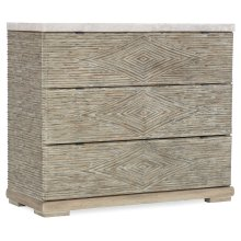 Living Room Amani Three-Drawer Accent Chest