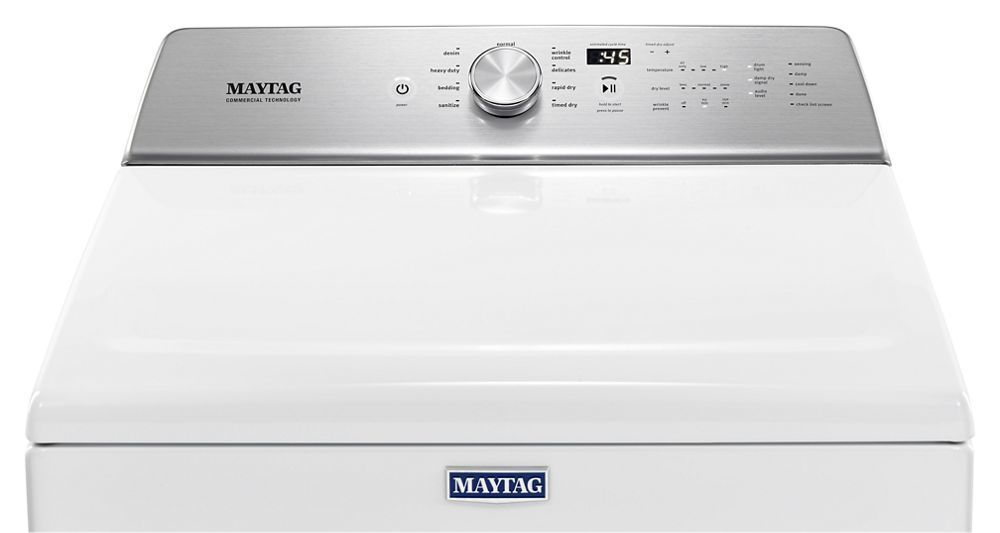 Maytag Dryer Gas Line Size on