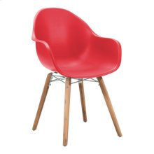 Tidal Dining Chair Red