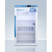 Performance Series Pharma-vac 3 CU.FT. Counter Height Glass Door All-refrigerator for Vaccine Storage With Factory-installed Data Logger