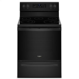 5.3 cu. ft. Freestanding Electric Range with Frozen Bake Technology - BLACK
