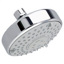 Water Saving Multifunction Rain Showerhead - Polished Chrome