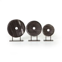 Linden Round Sculptures-set of 3