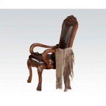 Arm Chair W/pu Back-cushion