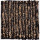 Metallic Waves Pillow Black & Gold Product Image