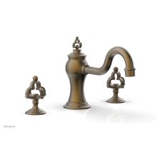 COURONNE Deck Tub Set 163-40 - Old English Brass