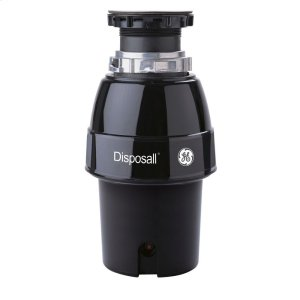 GE®1/2 HP Continuous Feed Garbage Disposer Corded