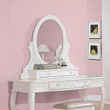 Caroline White Vanity Mirror