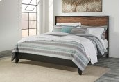 Stavani - Black/Brown 2 Piece Bed Set (King)