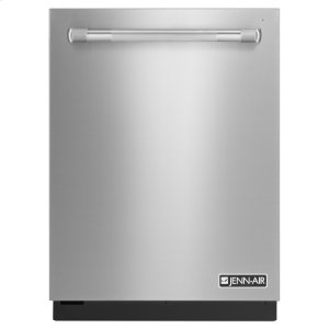 "Jenn-AirPro-Style® 24"" Built-In TriFecta Dishwasher, 38dBA Pro Style Stainless"